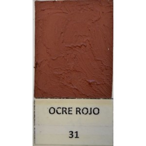 Pigmento Óxido Rojo 31 1 Kg.