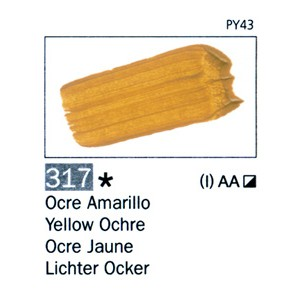 ARTIST 317 60 ML. Ocre Amarillo