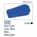 ARTIST 416 60 ML. Azul Cyan