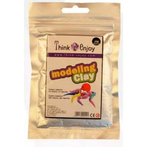 Pasta de Modelar Think Enjoy 25 Gr Blanco Brillant