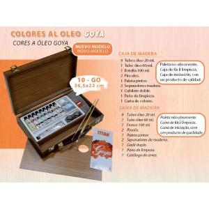 Maletín Oleo Goya 20 Ml. 10 Tubos