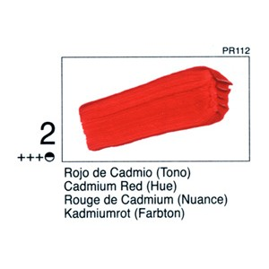 STUDIO 02 125 ML. Rojo Cadmio (Tono)