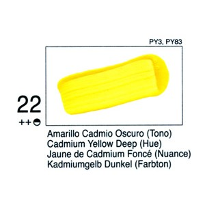 STUDIO 22 125 ML. Amarillo C. Osc. (Tono)
