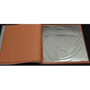 Libro 25 hojas Plata Fina Gd. 15 X 15 cm Gd.