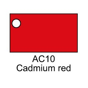 FEVICRYL 200 ML.CADMIUM RED
