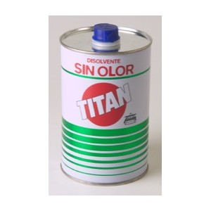 Disolvente sin olor Titan  500 Ml.