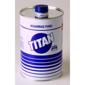 Aguarrás Puro Titan 1L.